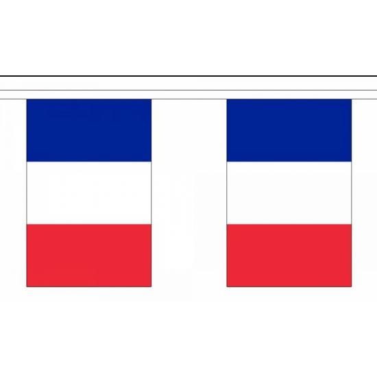 Vlaggenlijn frankrijk 9 m