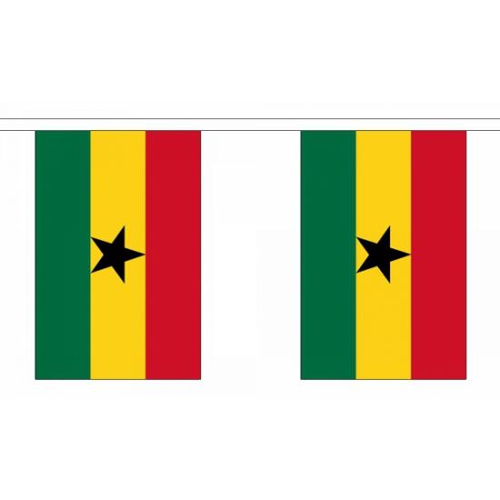 Vlaggenlijn ghana 9 m
