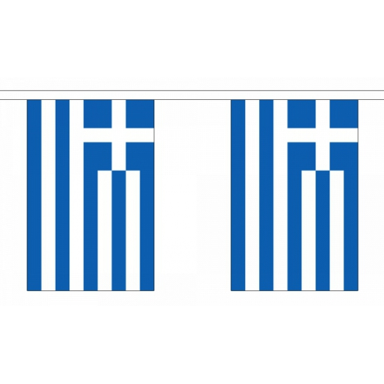 Vlaggenlijn Griekenland 9 m