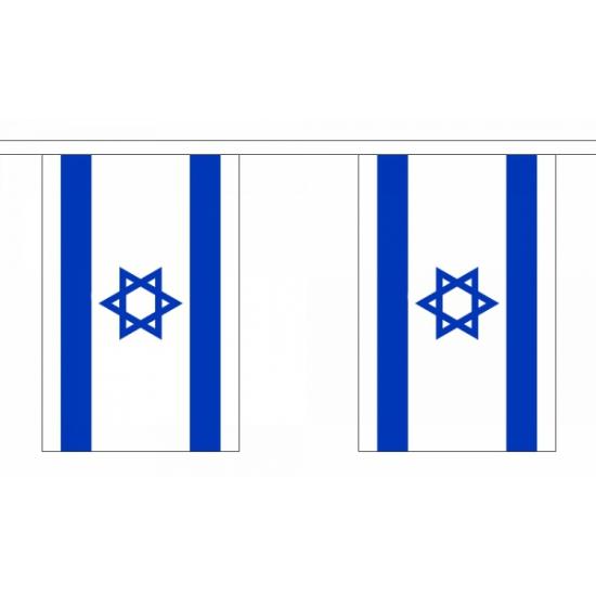 Vlaggenlijn Israel 9 meter