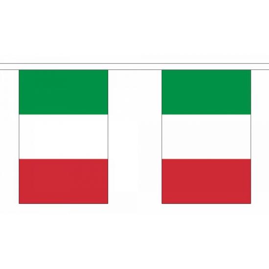 Vlaggenlijn Italie 9 m