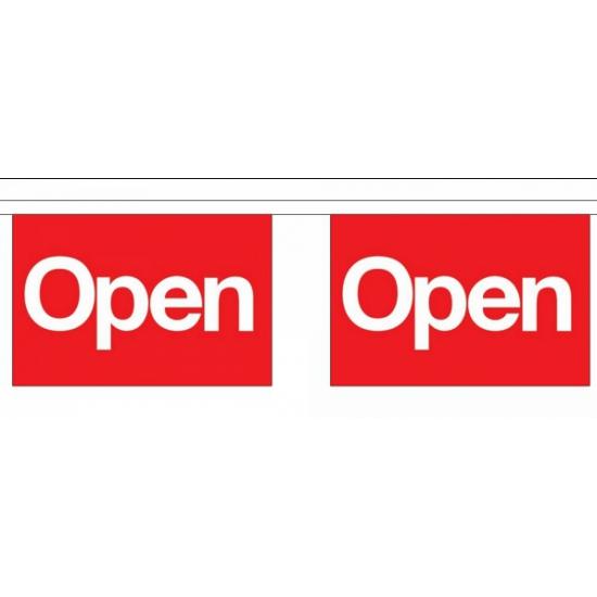 Vlaggenlijn Open 9 meter