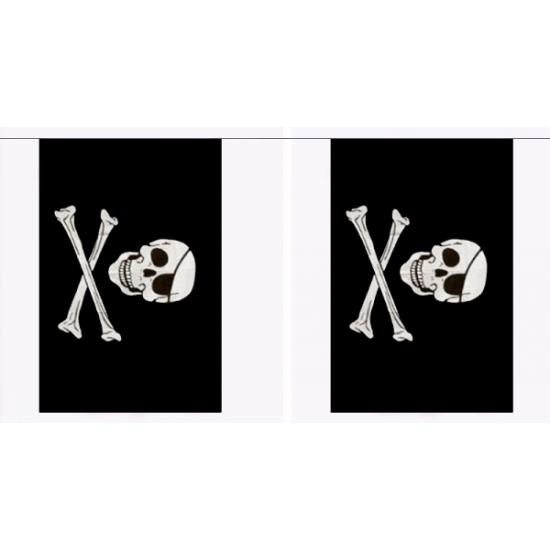 Vlaggenlijn piraten 9 meter