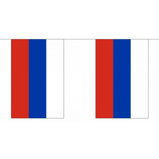 Vlaggenlijn Rusland 9 m