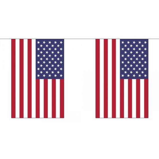 Vlaggenlijn USA 18, 25 m