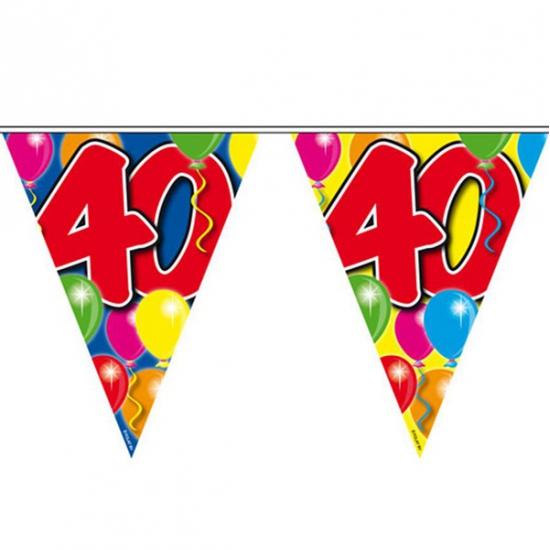 Vlaggenlijn van 40 jaar