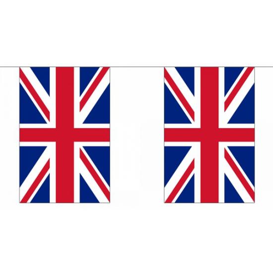 Vlaggenlijn van Engeland 18, 25 meter