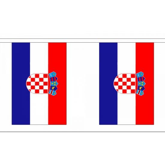 Vlaggenlijn van Kroatie 9 m