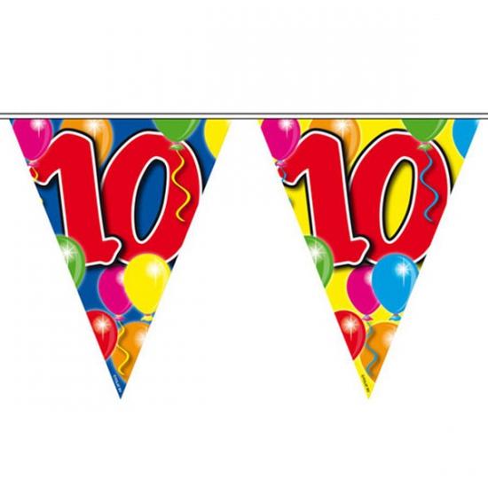 Vlaggenlijnen 10 jaar