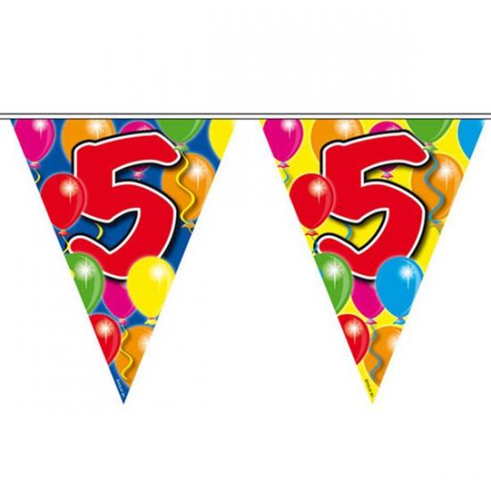 Vlaggenlijnen 5 jaar