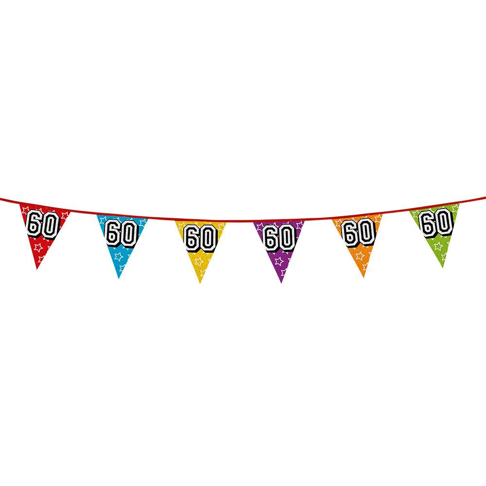 Vlaggetjes 60 jaar feestje