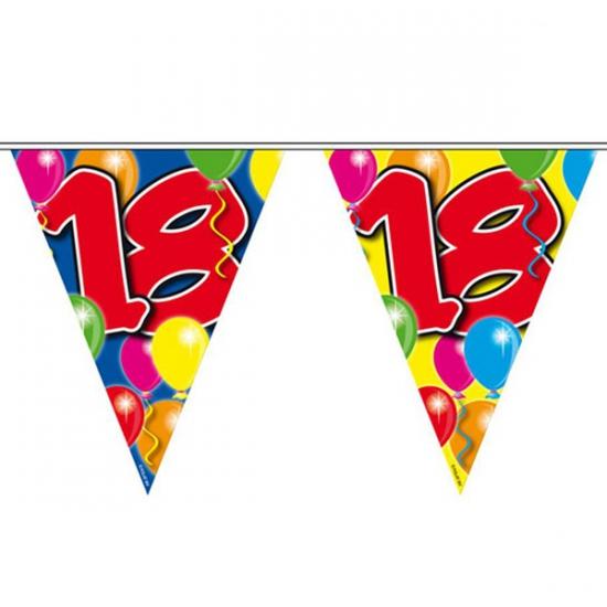 Vlaglijn 18 jaar