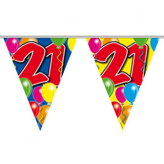 Vlaglijn 21 jaar