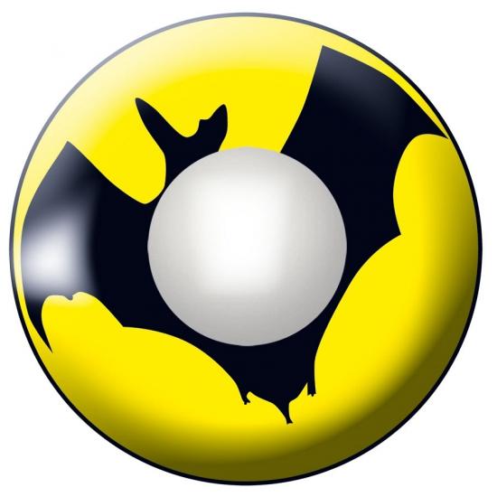 Vleermuis lenzen geel