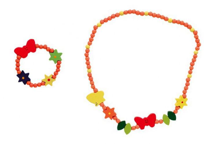 Vlinder kralenarmband en ketting voor kids