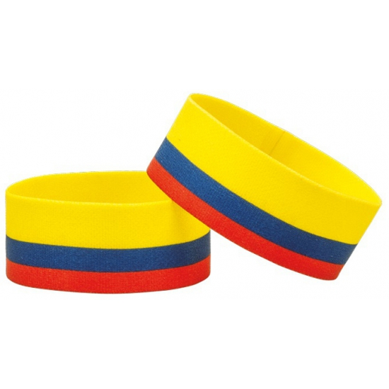 Voetbal armband Colombia