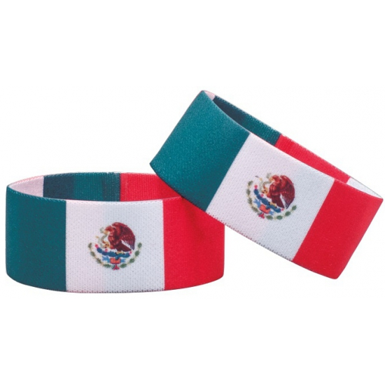 Voetbal armband Mexico