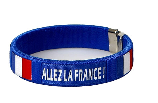 Voetbal armbandje Frankrijk
