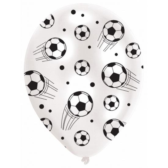 Voetbal thema decoratie ballonnen