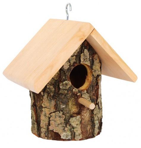 Vogelhuisjes boomschors
