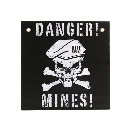 Waarschuwing Mijnenveld plaatje