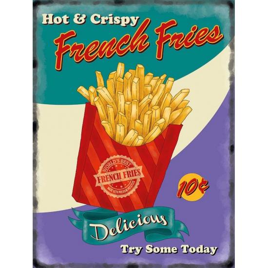 Wandplaat French Fries