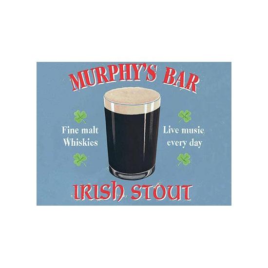 Wandplaat Murphys bar double