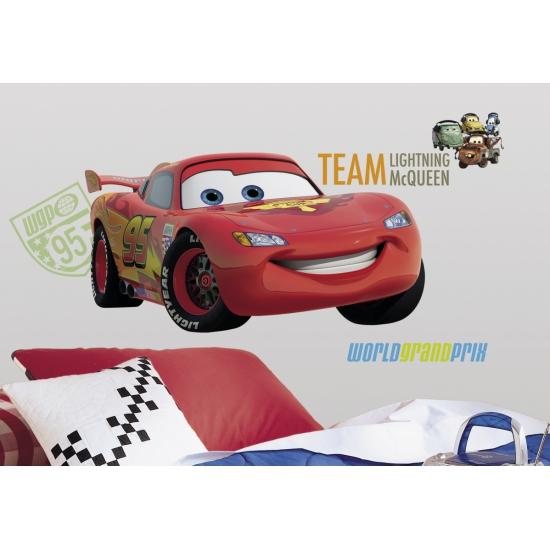 Wansticker set Cars 7 stuks