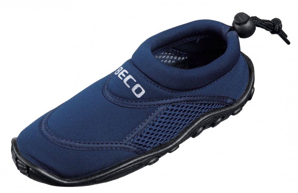 Waterschoen navy met anti slip zool