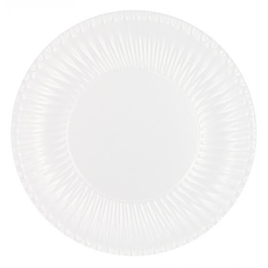 Wegwerp borden wit 10 stuks