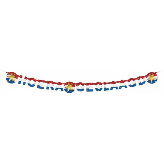 Wenslijn hoera geslaagd 210 cm