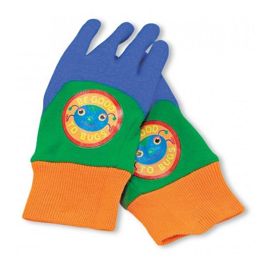 Werk handschoenen rubber voor kids