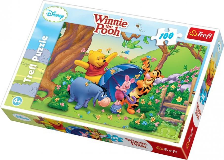 Winnie de Poeh puzzel voor kinderen 100 delen