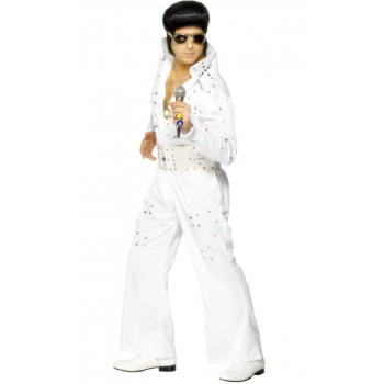Wit Elvis pak voor heren