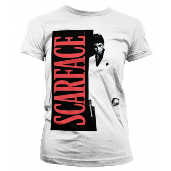 Wit Scarface Poster girly t shirt