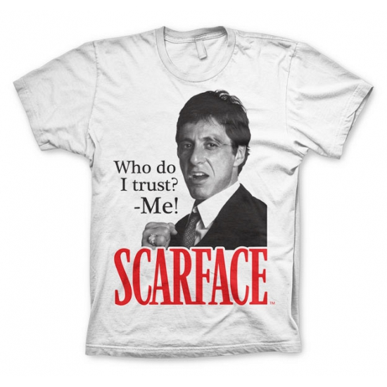 Wit Scarface Who Do I Trust t shirt