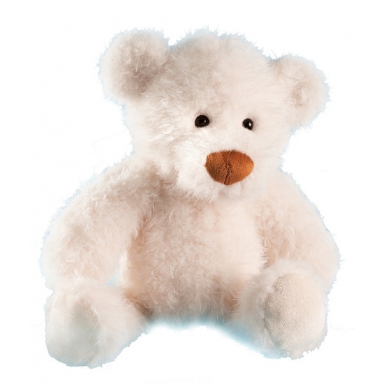 Witte beer knuffeldier 28 cm