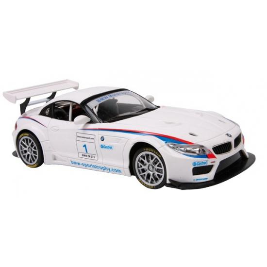 Witte BMW Z4 GT3 raceauto
