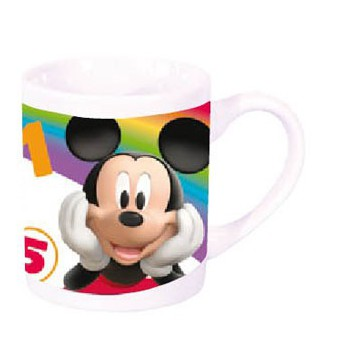 Witte Disney Mickey mok 230 ml