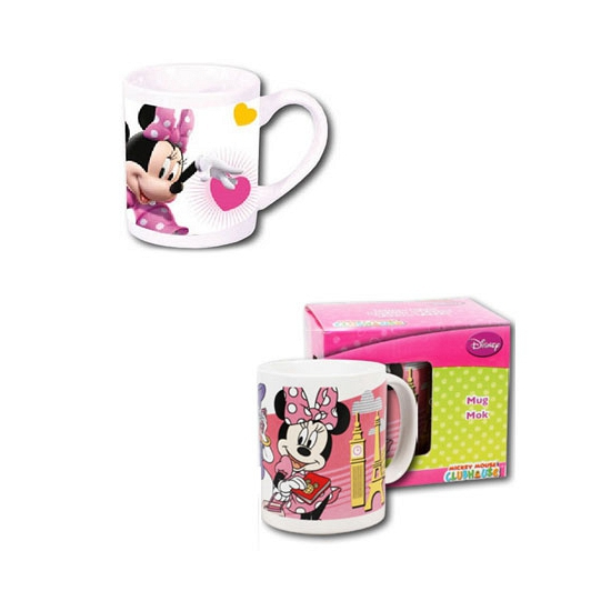 Witte Disney Minnie Mouse mok 230 ml