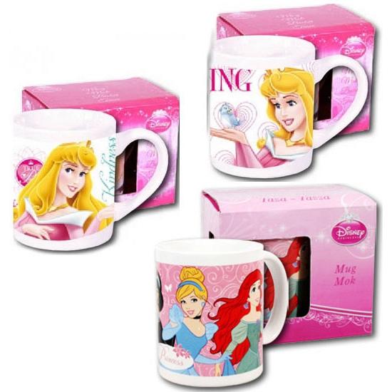 Witte Disney Prinsessen mok 230 ml
