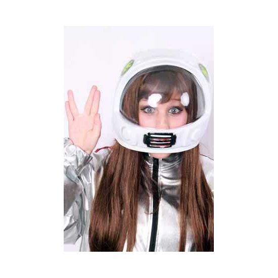 Witte space helm voor volwassenen