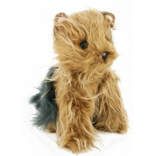 Yorkshire terrier knuffel 24 cm