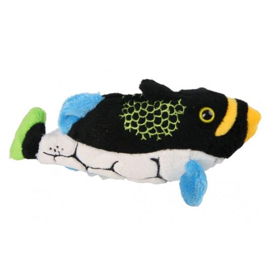 Zachte tropische vissen knuffel 20 cm