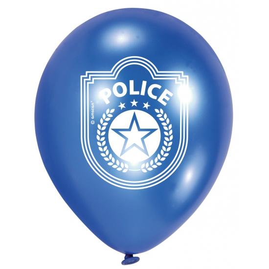 Zakje met politie ballonnen