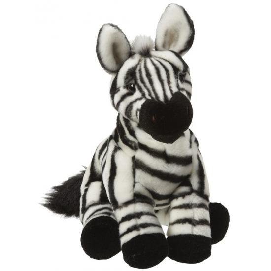 Zebra knuffel 27 cm