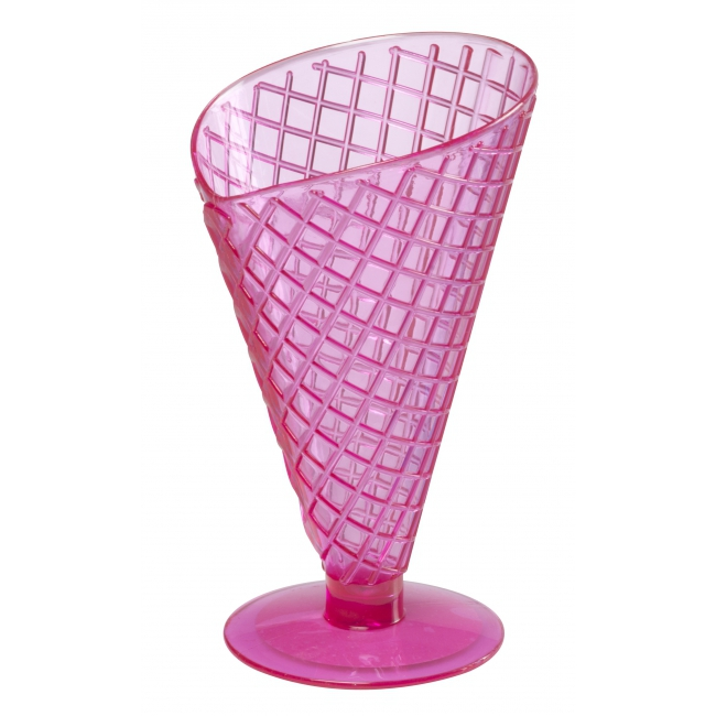 Zomer ijscoupes 9 2 cm roze