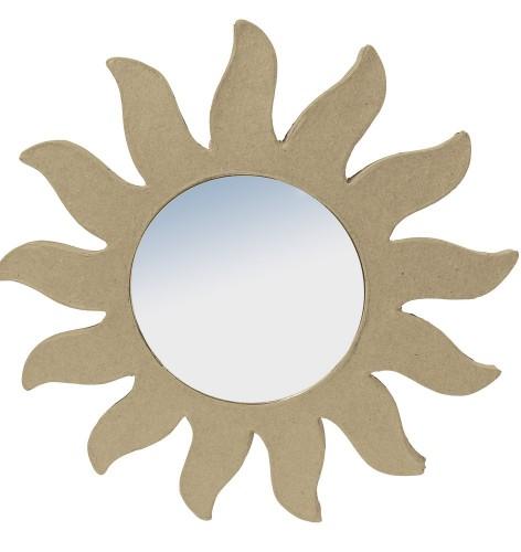 Zon met spiegeltje om te beschilderen