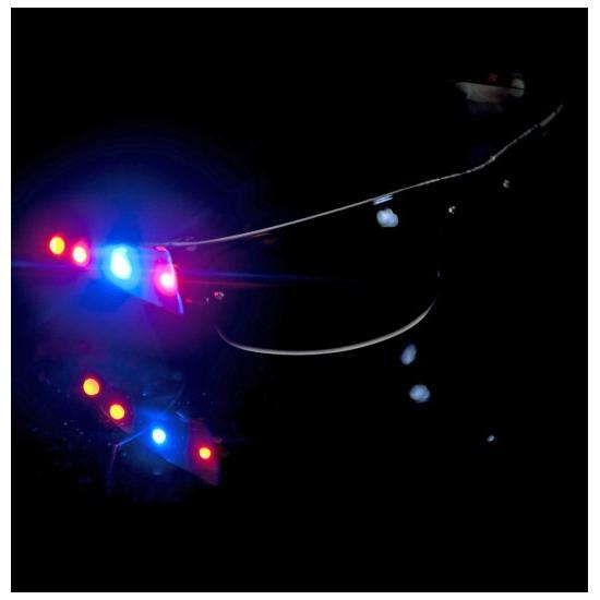 Zonnebrillen met LED verlichting