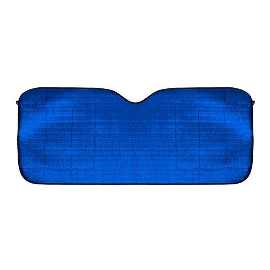 Zonwerend scherm blauw voor de auto